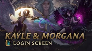 Kayle & Morgana, the Righteous & the Fallen | Login Screen - League of Legends