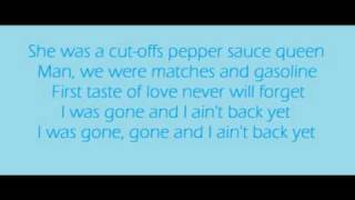 Download Ain't Back Yet - Kenny Chesney Lyrics MP3 song and Music Video