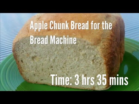 Apple Chunk Bread for the Bread Machine Recipe