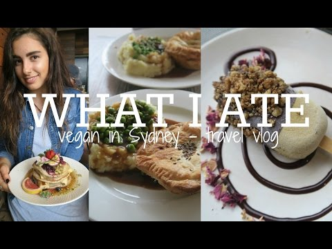 WHAT I ATE IN SYDNEY | TRAVEL VLOG - DAY ONE TO THREE