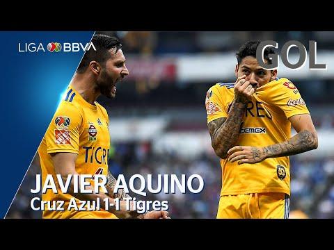 Cruz Azul 1 - [1] Tigres (J. Aquino 62')