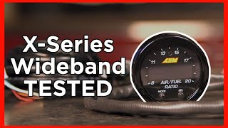 homepage tile video photo for X-Series Wideband Gauge Set-Up and DYNO RUN