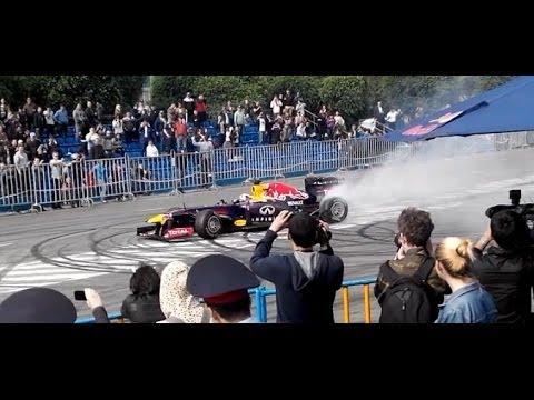 Formula1 Showrun Almaty HD | Red Bull Racing F1 Showrun