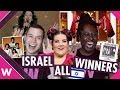 Israel: All Eurovision Winners (Reaction)
