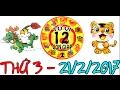 Tử Vi 2017 | Tử Vi 12 Con Giáp 2017: Thứ 3 - 21/2/2017 | Xem Tử Vi Hàng Ngày