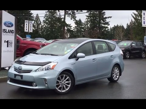 2015 Toyota Prius V Hybrid Review, Start Up and Tour - YouTube