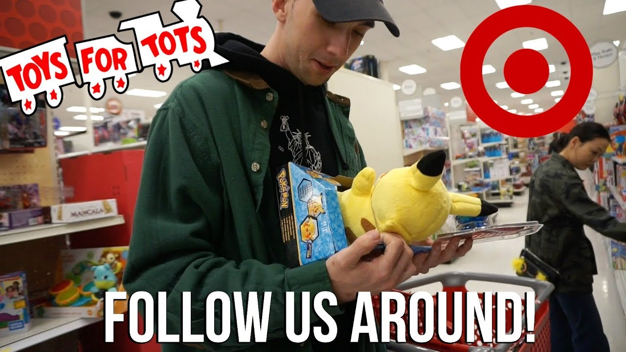 Toys Tots For For Statisistcs : Vlog follow us around target shopping for toys tots