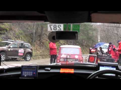 3.  2013 Rallye Monte Carlo Historique - The Classification Run Pt2 - CRX89B Austin Mini Cooper S