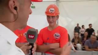 SRF @ SwissSkills 2018: Strassenbauer Schweizermeisterschaft Teil 2