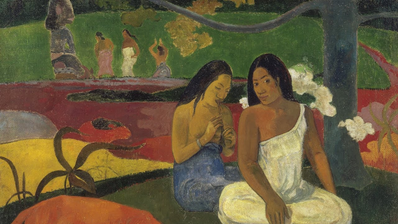 Gauguin: Maker of Myth - the Art of Paul Gauguin shows in ... |Gauguin Paintings