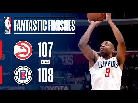The Hawks and Clippers Go Down to the Wire in L.A. | January 8, 2018