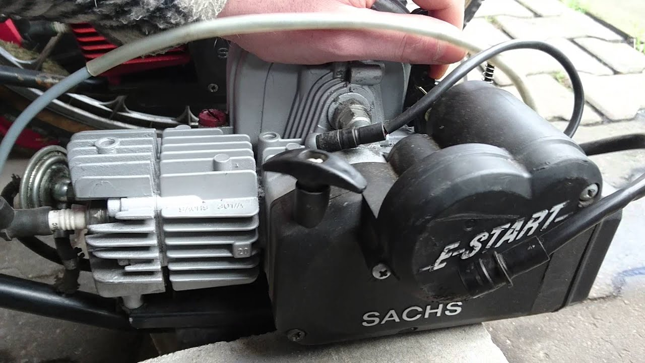 Saxonette Motor 599er Mit Tuning Z Ndmodul Testlauf Youtube