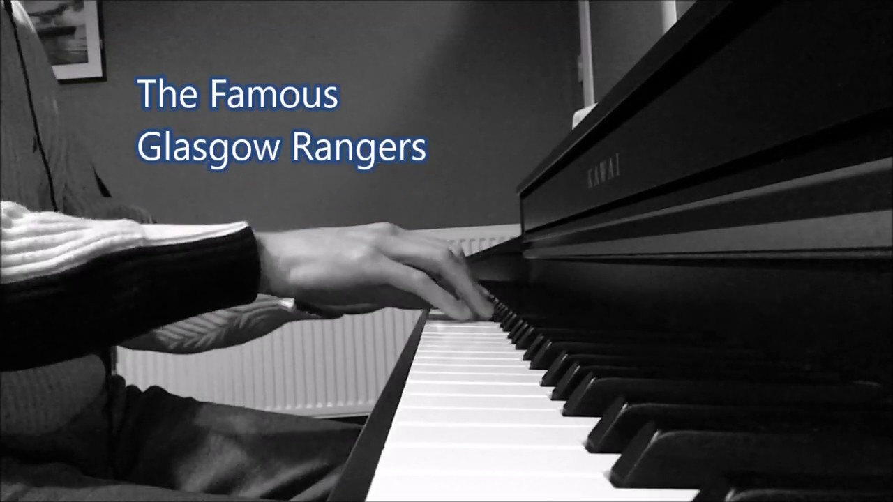 The Famous Glasgow Rangers - Rangers Songs - Piano Chords ...