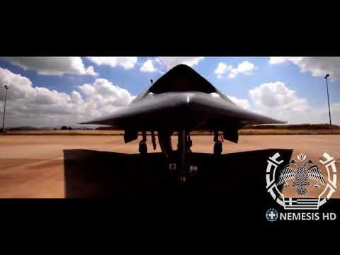UCAV Neuron |  The Pride OF Hellenic Air Force | 6th Gen Stealth Drone By Nemesis HD