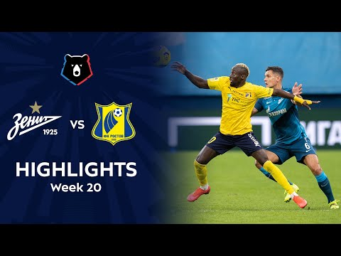 Zenit Petersburg Rostov Goals And Highlights