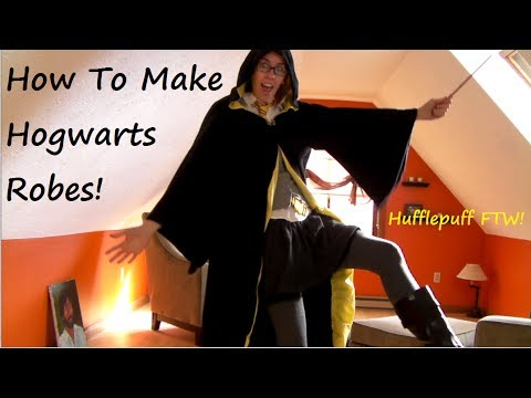 COSTUME TIME!: Hogwarts Wizard Robes! | Sewing Nerd! - YouTube