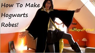 Sewing Nerd! - Tutorial: How To Make Hogwarts Wizard Robes!