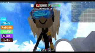 WLS trios part 1: Sit-ups for strength (Roblox Weight Lifting Simulator 3)