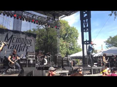 Memphis May Fire Live - Riotfest 2013