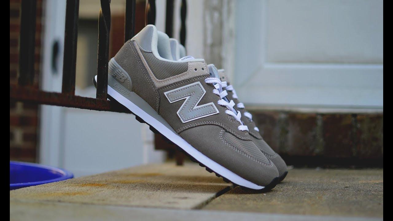 The OG Dad Shoe - New Balance 574 (Grey)