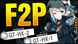 GT-HX-1 GT-HX-2 100% F2P UNITS ONLY! Arknights!