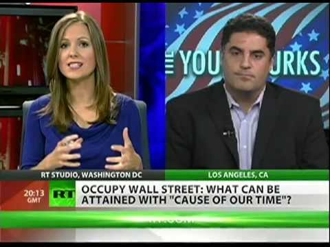 Cenk Uygur: Corporate media tried to ignore Occupy Wall Street