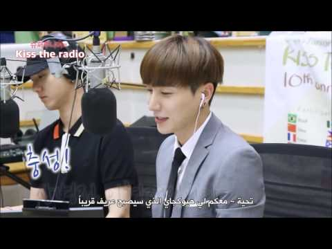[Arabic Sub] 160821 Super Junior Kiss the radio 10th anniversary Highlight