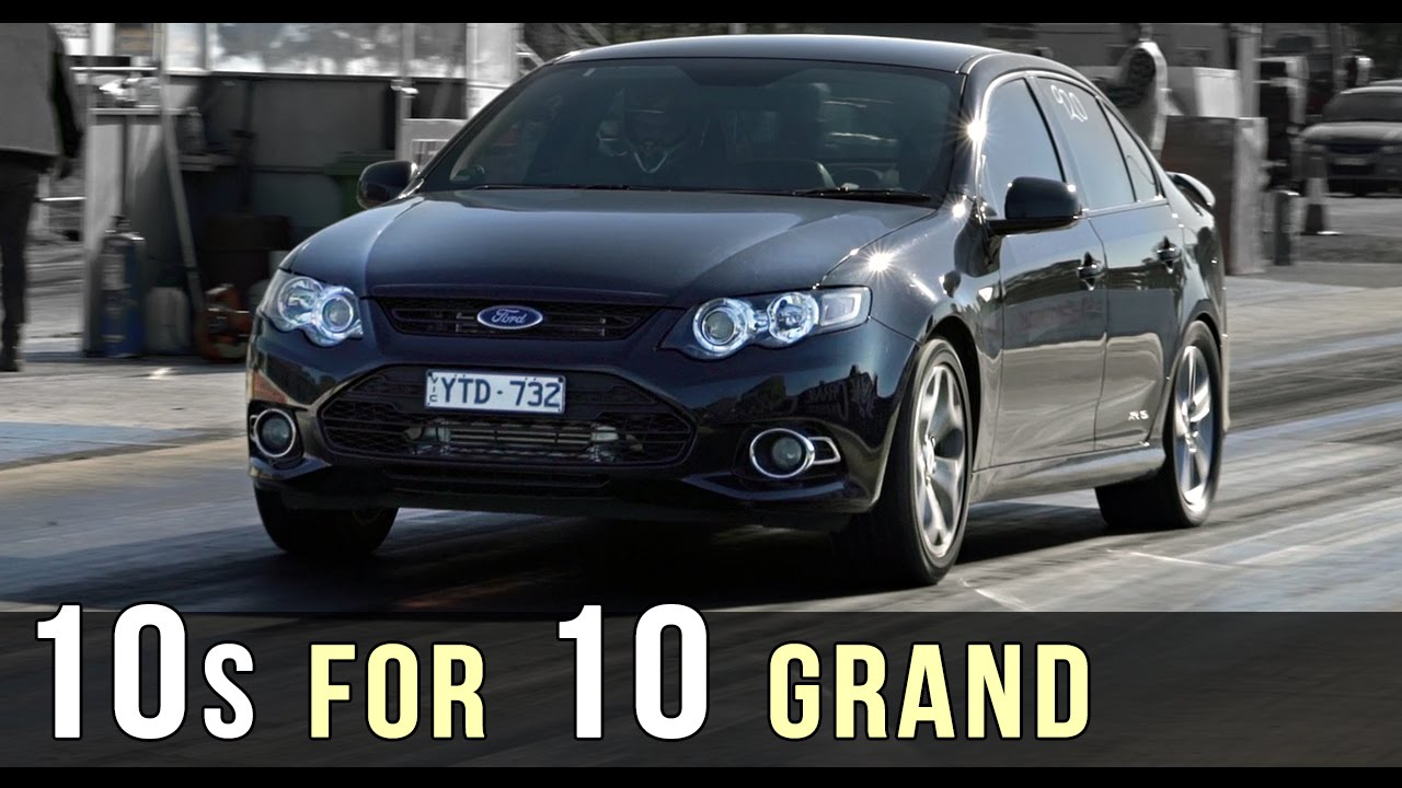 10s for 10 grand - Ford FG XR6 turbo