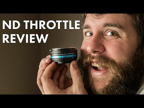 A filmmaker's review of the Vizelex ND Throttle lens adapter