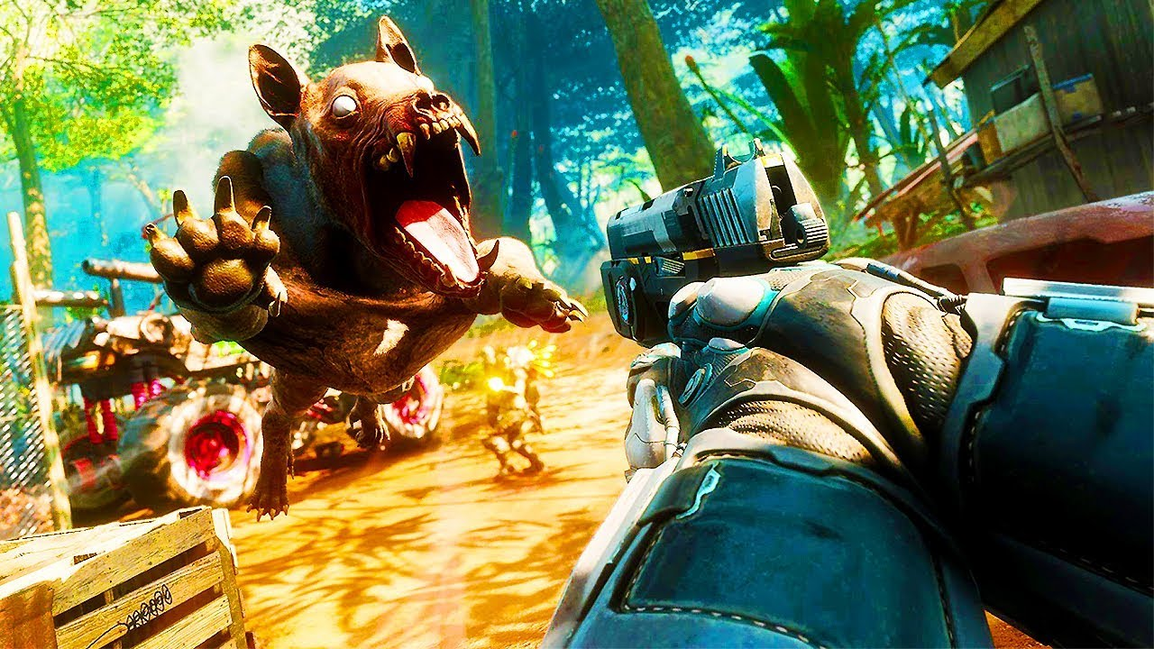 RAGE 2 - 40 Minutes of Gameplay So Far (PS4 XBOX ONE PC) Rage 2 ...