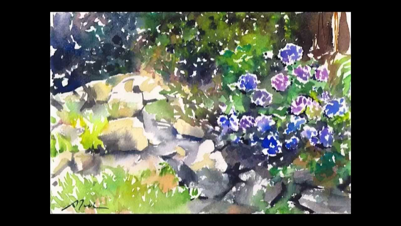 How To Paint Flowers Acrylic Video