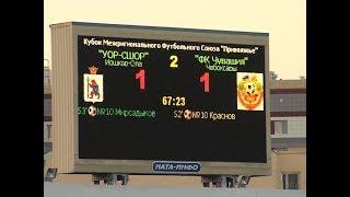В Йошкар-Оле прошел матч Кубка Межрегионального футбольного союза «Приволжье»