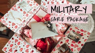 MILITARY CARE PACKAGE / Valentines Day Themed!!