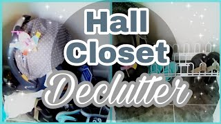 HALL CLOSET ORGANIZATION/CLEANING MOTIVATION /COLLAB WITH Marleena Jenkins Beauty TV