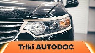 """Triki, jak naprawić auto i wskazówki """"zrób to sam"""""""