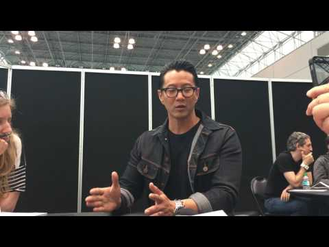 FALLING WATER: Will Yun Lee Interview - NYCC 2016