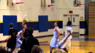 David Alston Alley OOP to Jack Hobbs South Wolverines Basketball Alaska