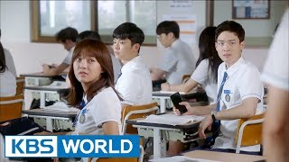 [1Click Scene] A dangerous video is spread all around the school! (School 2017 Ep.6)