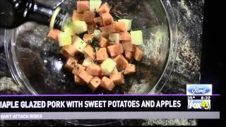 Healthy Cooking With Chef Mark Mckinney- Maple Glazed Pork With Sweet Potatoes And Fuji Apples