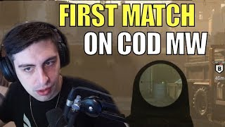 SHROUD ▪ First Ever COD MW Match - He's OWNING!【Call Of Duty Modern Warfare】
