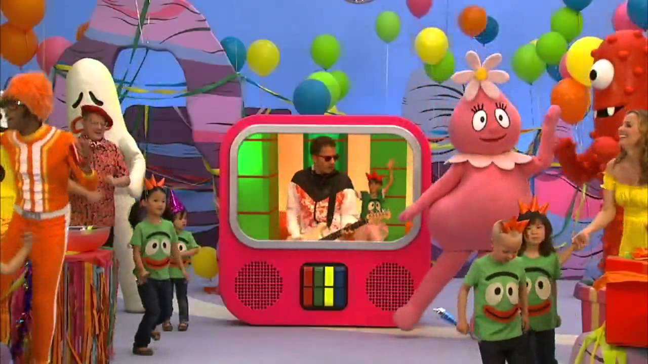 Happy Birthday By The Ting Tings From Yo Gabba Gabba Youtube