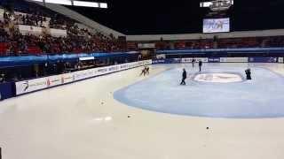 2014 ISU Short Track WC (Montréal) Women's 1000m Semi Final Min-jeong Choi 최민정 선수
