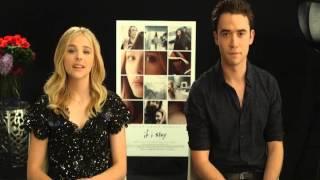 «Если я останусь»  Обращение Хлои Грейс Морец и Джейми Блэкли #2