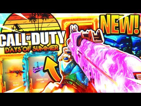 *NEW* DAYS OF SUMMER UPDATE IS HERE! - BLACK OPS 3 NEW CAMO, NEW DLC WEAPONS, AND MORE! (BO3 New)