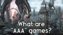 "What are ""AAA"" games?"