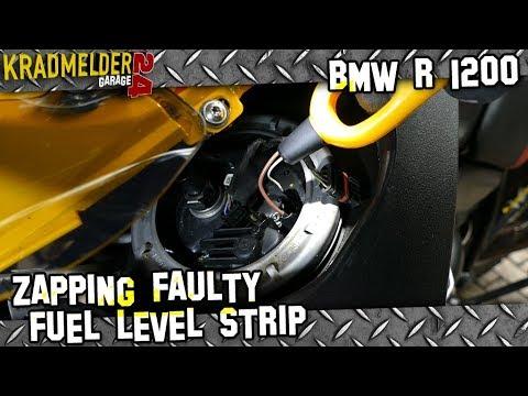 Repairing faulty fuel level strips on BMW R 1200 (GS Adventure) 🔧 Kradmelder 24 Garage