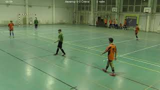 КЛФЛ Чемпионат по мини футболу сезон 2020 2021 1 ТУР Авиатор Смена