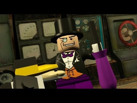 LEGO Batman 100% Guide - Villains Episode 2-2 - Stealing the Show (All Minikits/Red Brick/Hostage)