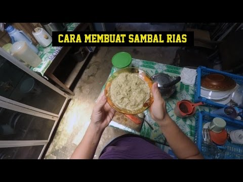 Cara Membuat Sambal Rias Andaliman Indonesian Food Resep Youtube