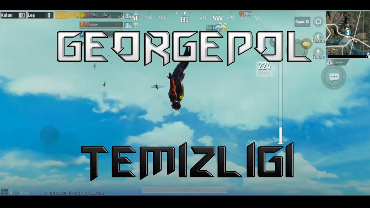 GEORGOPOL TEMİZLİĞİ - PUBG MOBILE #HIGHLIGHTS